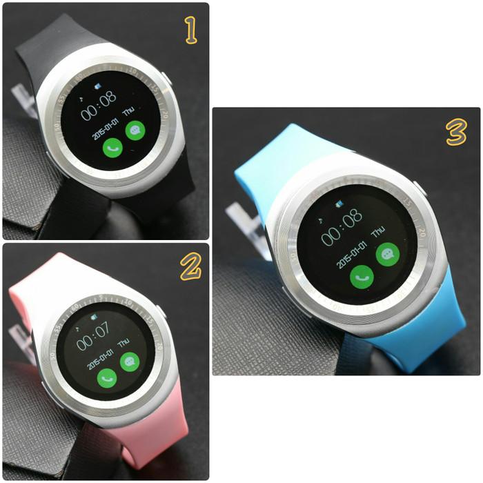 Jam Tangan wanita cewek Pria Cowok smart watch Y1