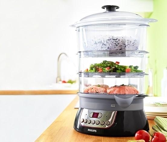 Food steamer - panci kukus electric philips hd 9140