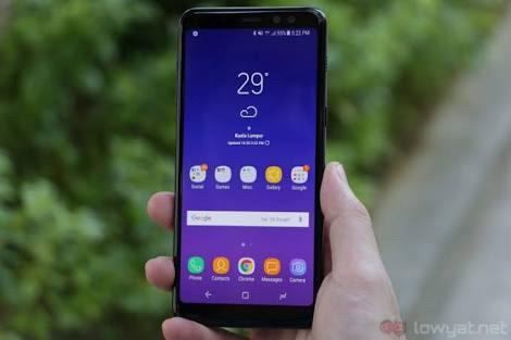 harga Samsung galaxy a8 garansi resmi sein 1 tahun Tokopedia.com