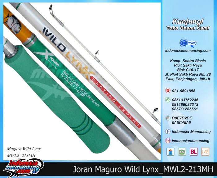 harga Joran spinning maguro wildlynx 213mh Tokopedia.com