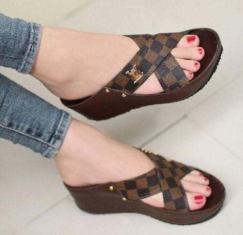 harga Sandal wedges zlv jh101 sepatu sandal wanita murah Tokopedia.com