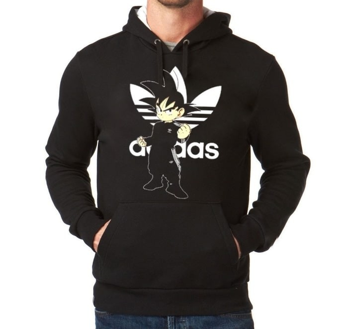 harga Jaket hoodie sweater jumper adidas son goku dragon ball jersey futsal Tokopedia.com
