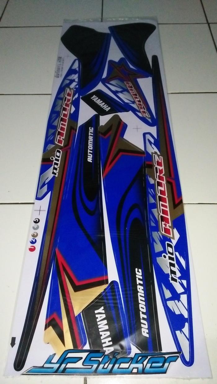 Harga striping sticker variasi yamaha mio sporty 2005 2011 amore bintang 1 tokopedia