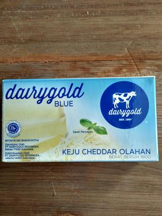 Foto Produk Keju cheddar Dairygold, cheese dairy gold 180gram dari Just Me Shop