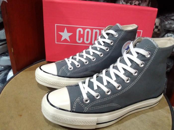 3250916c0bcf75 Jual Sepatu Converse All Star 70s HI Grey Premium Original BNIB ...