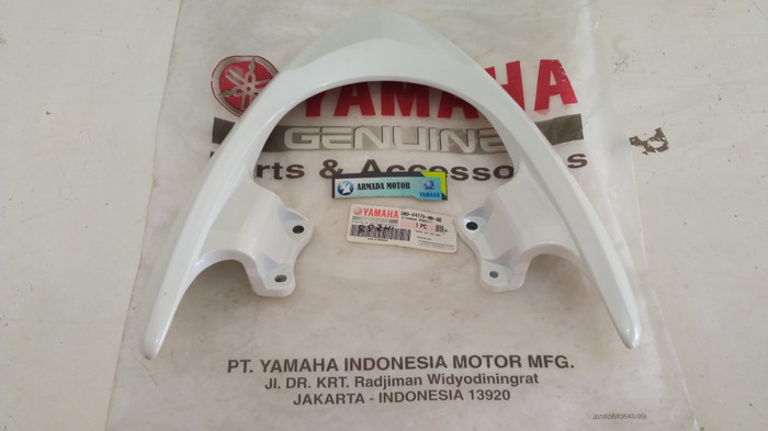 harga Handle seat / behel jok belakang n mio sporty putih ori yamaha Tokopedia.com