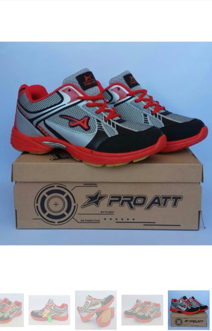 Sepatu Olahraga Pro Att Abu Abu Merah - List Harga Terkini dan ... 12be3f38b4