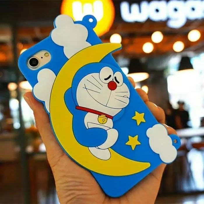 harga Vivo Y65 3d Doraemon Sleeping On Moon Soft Back Case Casing Cover Tokopedia.com