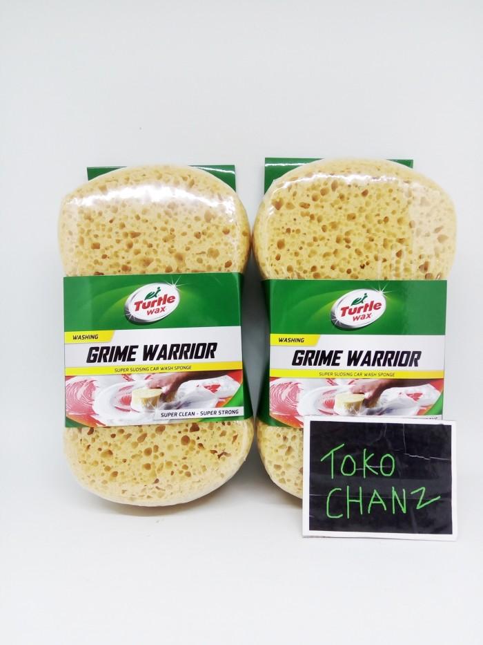 Foto Produk Turtle Wax Grime Warrior sponge / spon busa cuci mobil dari Toko Chanz