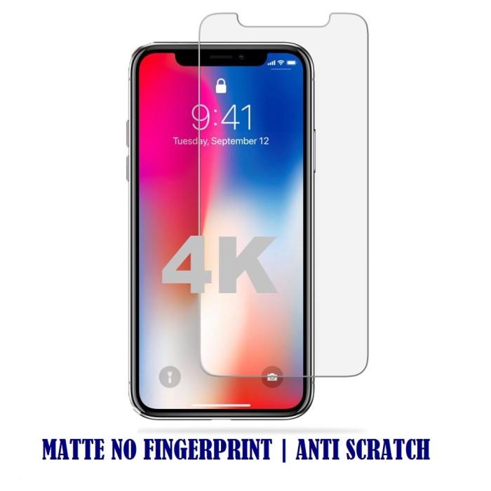 Foto Produk Iphone X - Tempered Glass Matte/Anti Glare/Anti Minyak Kaca dari 4K