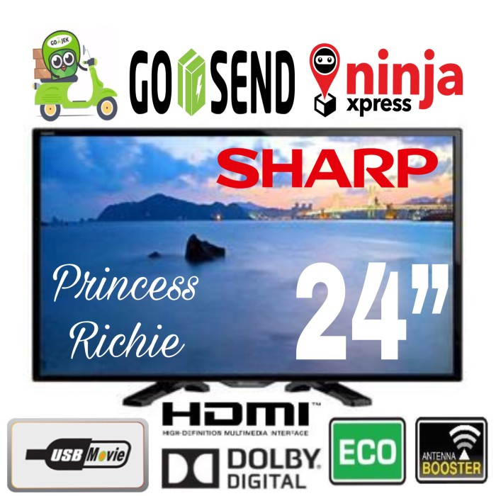 Led TV SHARP 24LE175i 24 inch USB Movie