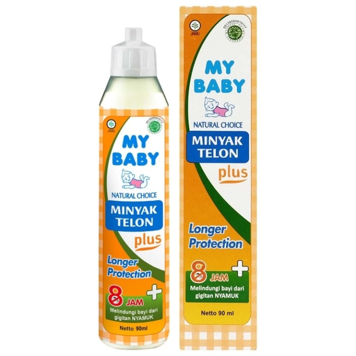 harga My baby minyak telon plus 8 jam 90ml Tokopedia.com