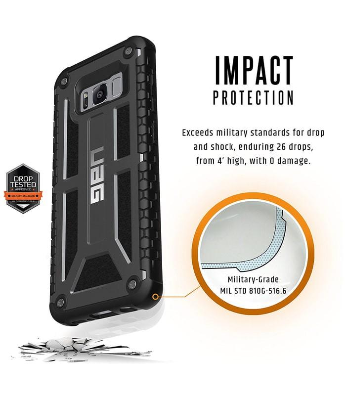 harga Samsung galaxy s8 plus hardcase cover uag urban armor gear monarch Tokopedia.com