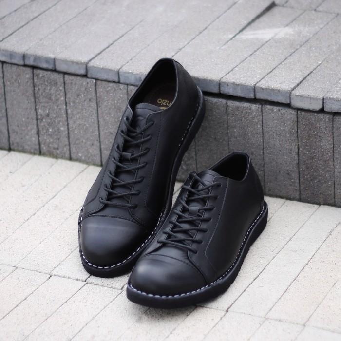 harga Sepatu sneaker kulit kenzio sidney black x sepatubox Tokopedia.com