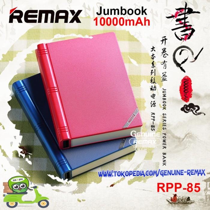 REMAX Jumbook Series Powerbank 10000mAh - RPP-85