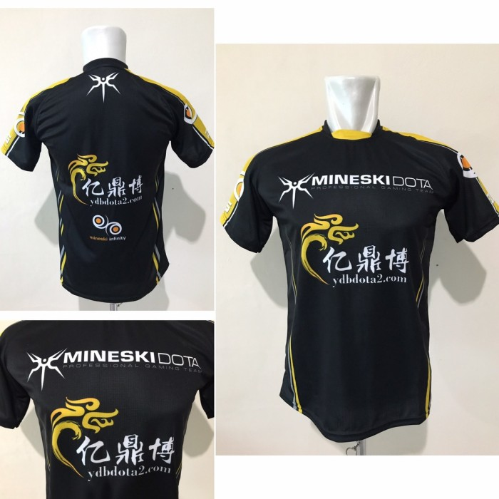 Jersey Gaming Mineski Baju Kaos Tshirts Gaming