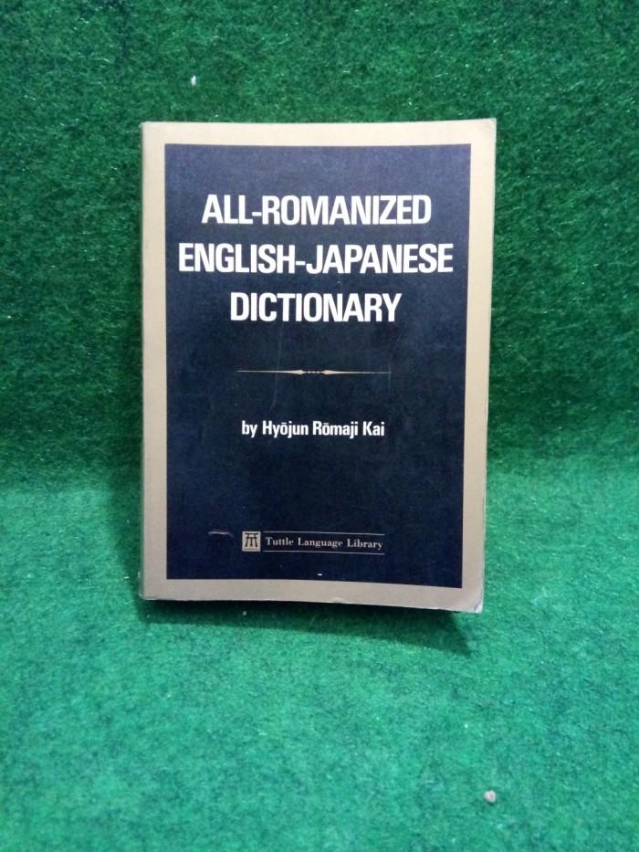 Jual All romanized english- japanese dictionary - hyojun romaji kai - Kab   Cirebon - Angon Buku | Tokopedia