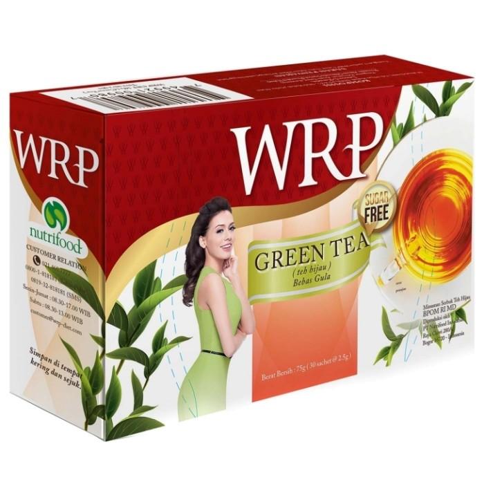 harga Wrp diet tea 30 sachet sugar free teh diet langsing bebas gula 30's Tokopedia.com