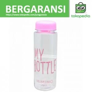 Botol Minum Plastik Bening Juice Lemon My Bottle 500ml - Pink
