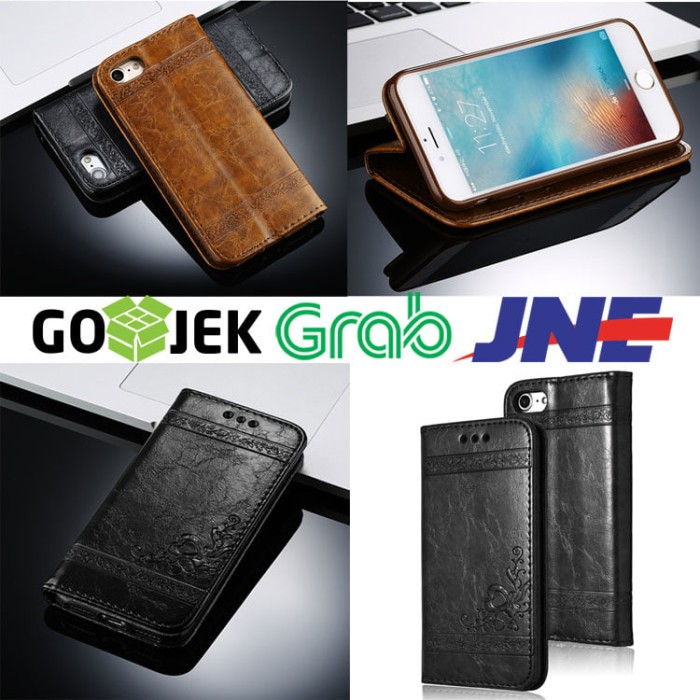harga Leather case flip cover wallet samsung galaxy note 4 note4 sm-n910 Tokopedia.com