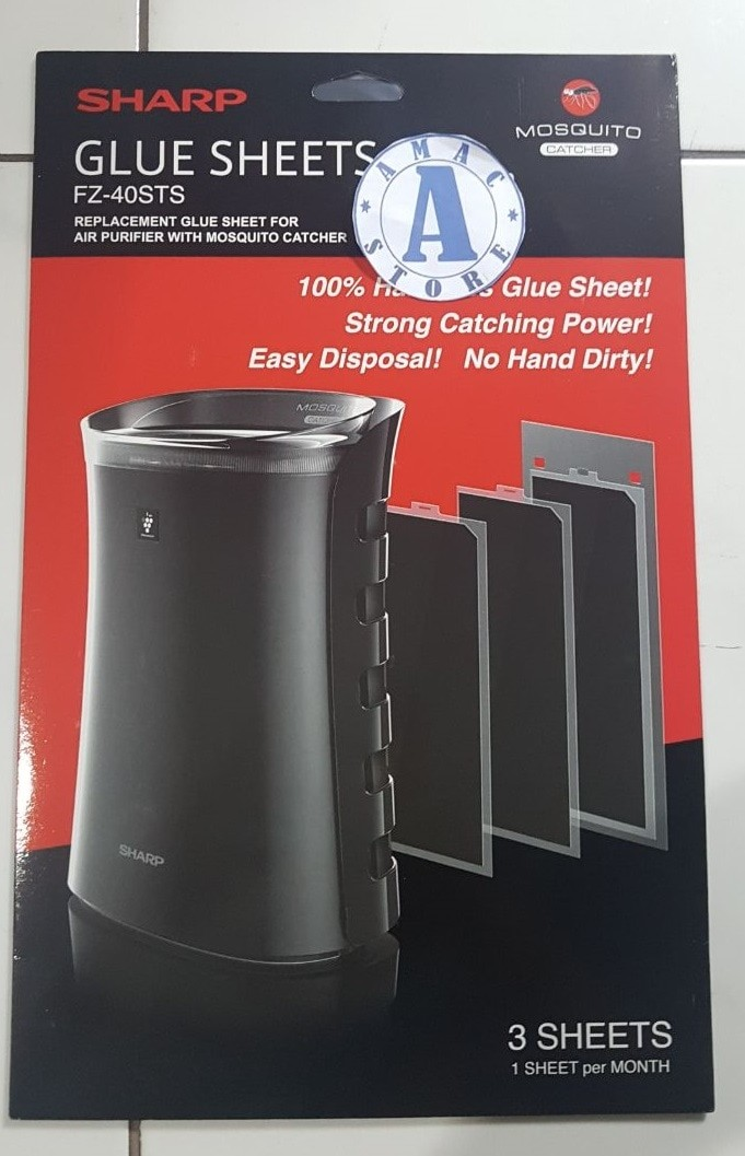 harga Sharp fz-40sts glue sheet (sharp fp-fm40y-b & fp-gm30y-b air purifier) Tokopedia.com