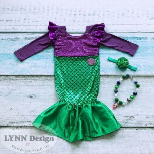 harga Baju dress kostum princess ariel putri duyung/ mermaid Tokopedia.com
