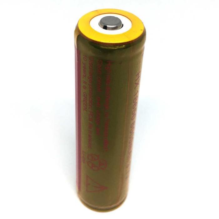 harga Ultrafire Rechargeable Baterai 3.7v 6000mah Button Top - Brc 18650 Tokopedia.com