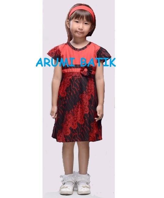 harga Dress dres terusan baju batik anak perempuan 2202 4 - 9 tahun Tokopedia.com