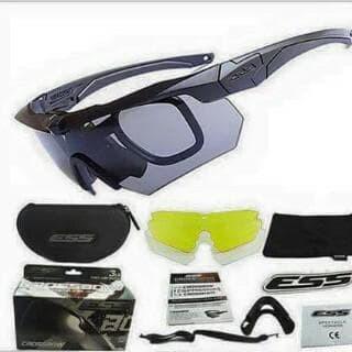 harga Kacamata ess crossbow 3 lensa - kacamata tactical - kacamata ess Tokopedia.com
