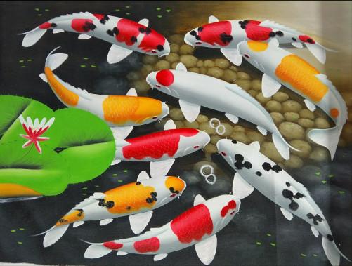 harga Lukisan fengshui ikan koi Tokopedia.com