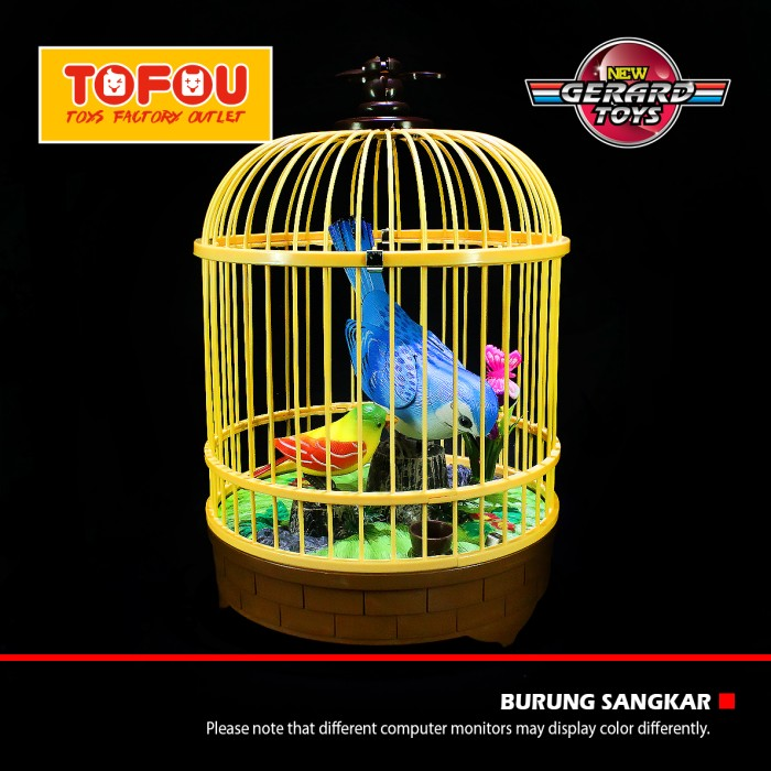 harga Mainan anak burung sangkar besar isi 2 biru murah Tokopedia.com