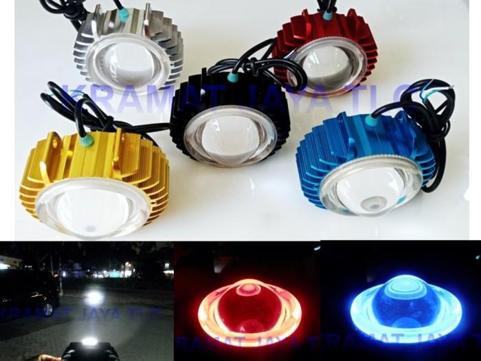 harga Lampu sorot tembak projie led cree putih lensa merah biru 12 watt slim Tokopedia.com