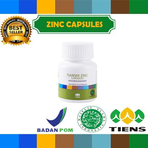 Penggemuk badan herbal tiens zinc 30 kapsul