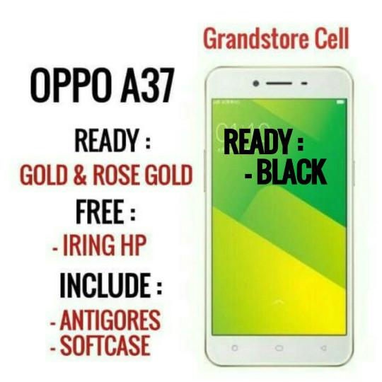harga Oppo a37 / grs resmi oppo 1 tahun /ram2-rom16-4g lte Tokopedia.com
