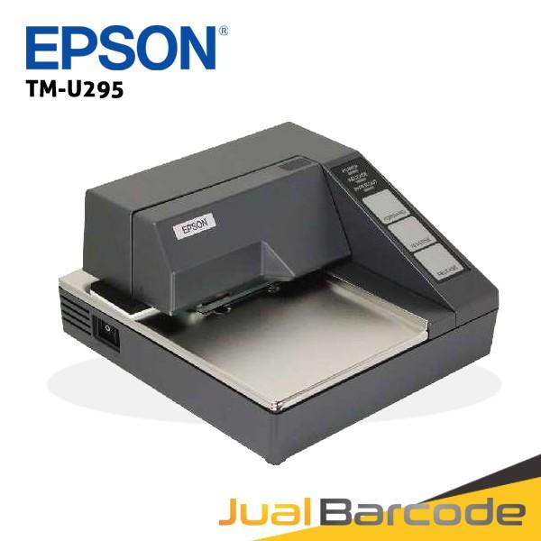 harga Printer pos dot matrix slip validasi epson tmu 295 | tmu295 | tm-u295 Tokopedia.com