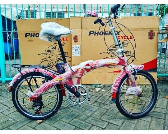 harga Sepeda lipat anak phoenix 20  inchi bkn bmx united polygon murah Tokopedia.com
