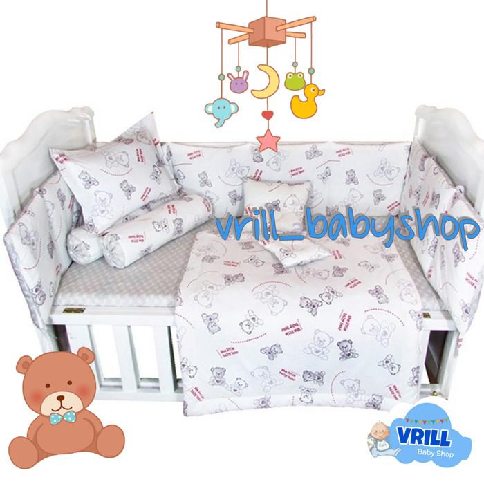 harga Bumper set bayi | bumper box baby | custom motif | uk. 130x80 Tokopedia.com