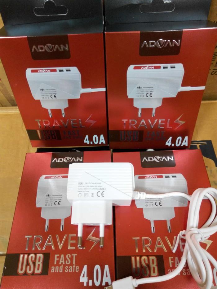 harga Charger advan fast charging 4a 2usb led Tokopedia.com