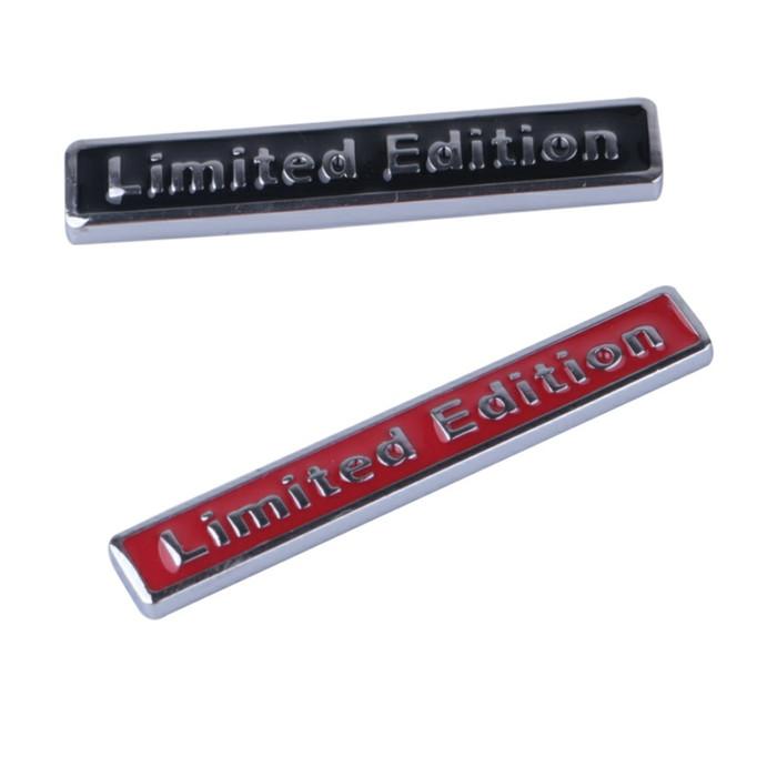 harga Emblem limited edition (kecil) 3d metal chrome Tokopedia.com