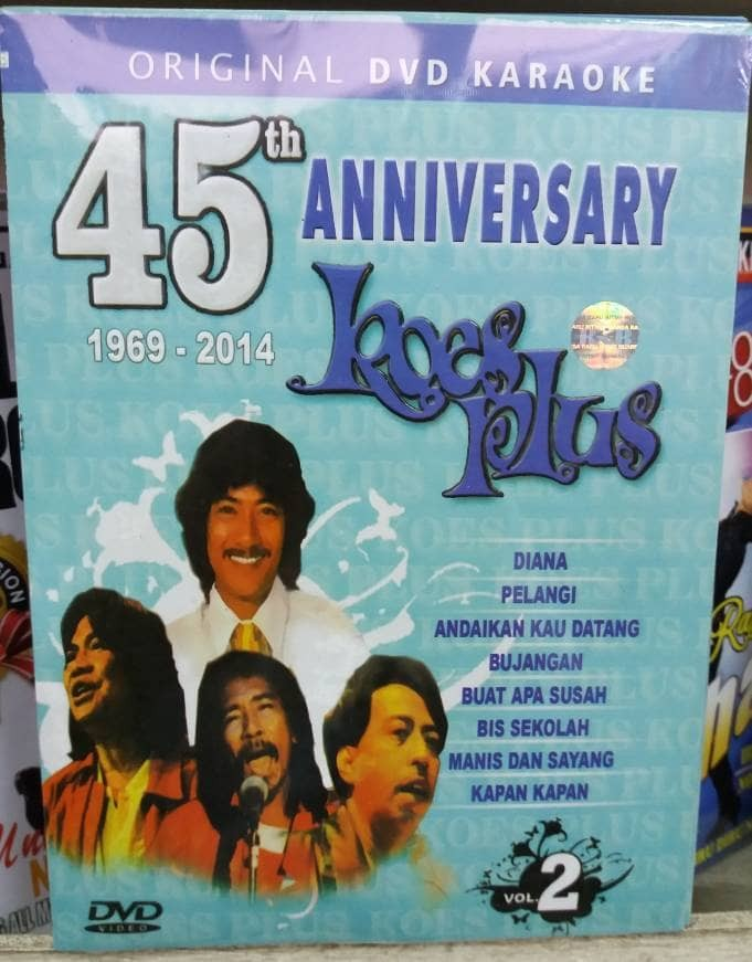 harga Dvd karaoke original 45th anniversary koes plus vol 2 . Tokopedia.com