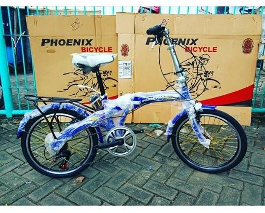 harga Sepeda anak lipat phoenix 20  inchi bkn bmx united polygon murah Tokopedia.com