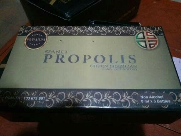 Propolis bss spanet green brazilian