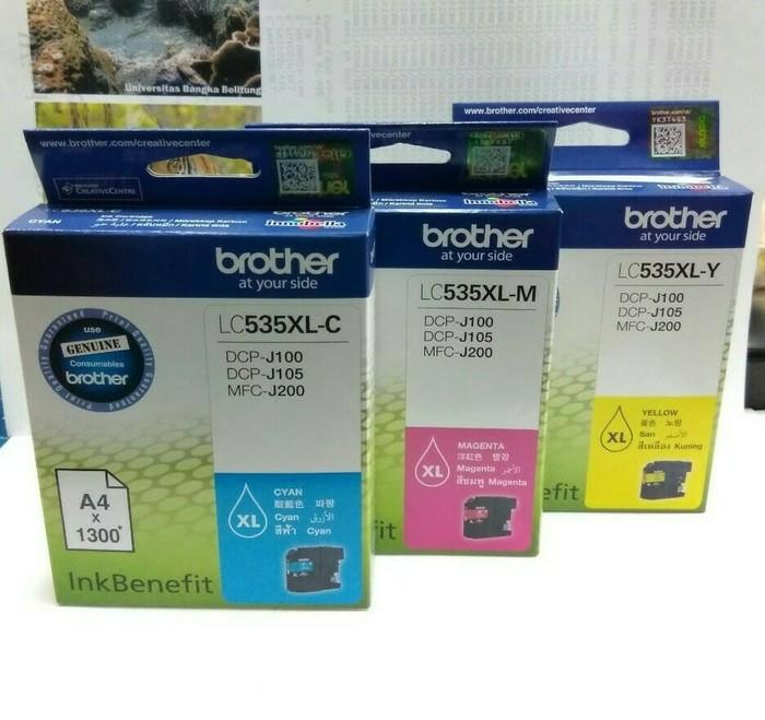 harga Tinta brother lc 535 xl original Tokopedia.com