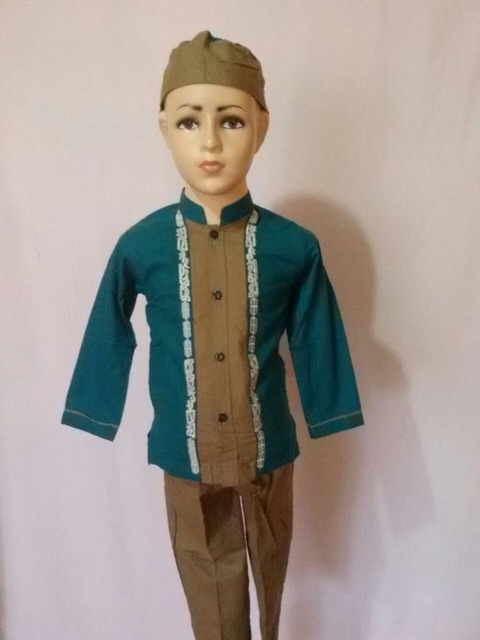 Jual Baju Koko Baju Setelan Muslim Anak Laki Lengan Panjang Terbaru c2f13a801b