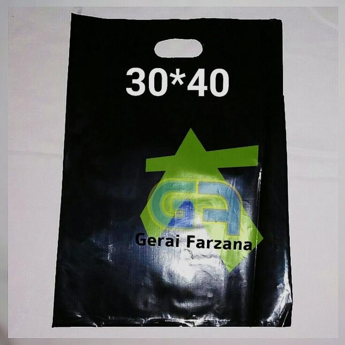 harga Kantong plastik 30 x 40 cm pe plong pond oval shopping bag bisa sablon Tokopedia.com