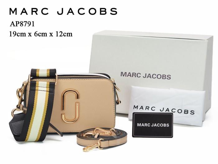 harga Tas marc jacobs snapshot new colorblock cream apricot semi premium ap8 Tokopedia.com