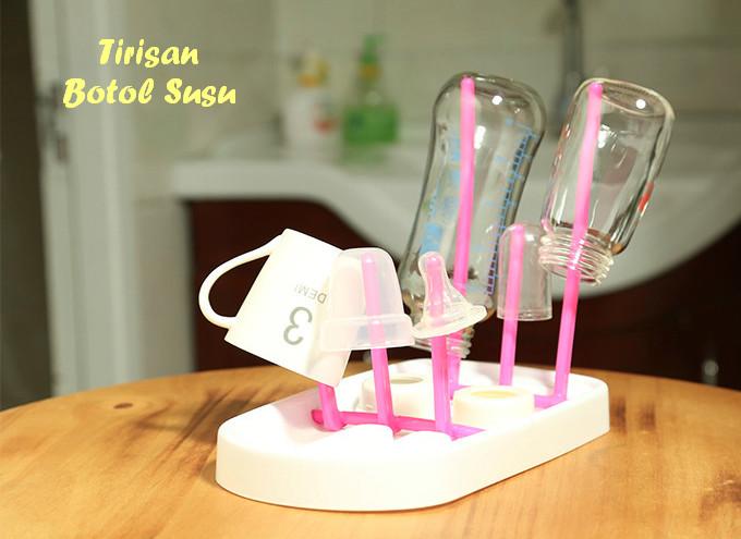 harga Rak tempat tirisan botol susu bayi gelas dot mug drying rack - botol Tokopedia.com