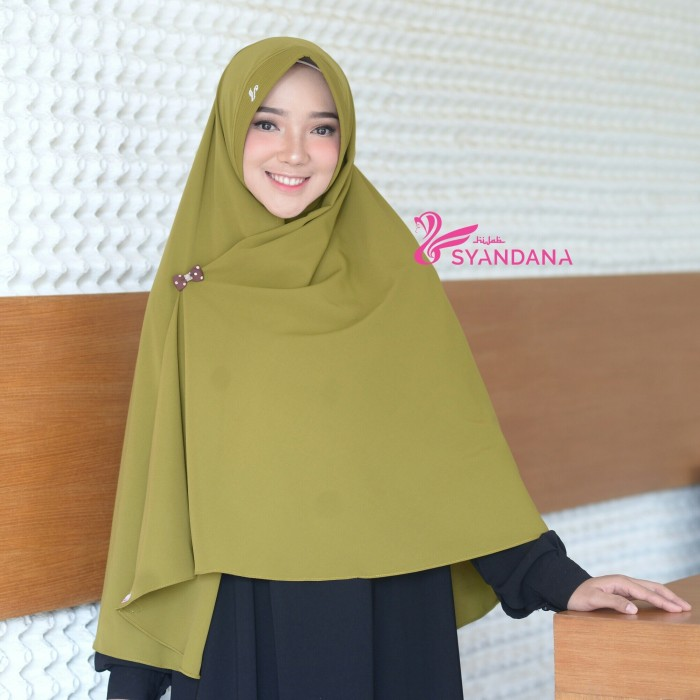 Jual Hijab Syandana Jilbab Syari Murah Gosya Hijau Olive Hijau Olive Kab Tangerang Vasthijab Store Tokopedia