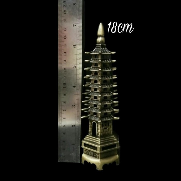 harga Pajangan miniatur chinese pagoda 18cm Tokopedia.com
