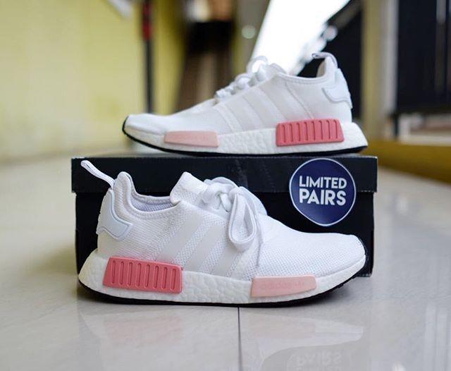Jual Adidas NMD R1 Women White Rose Icy Pink Jakarta Barat Limitedpairs | Tokopedia